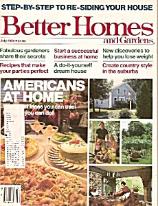Better Homes And Gardens - July 1984