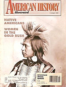 American History Illustrated -  February 1992 (Image1)