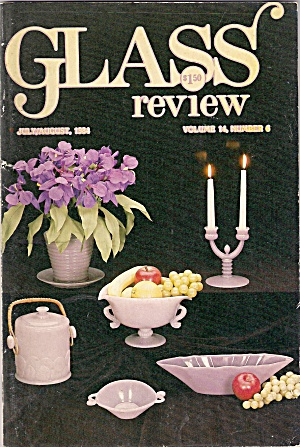 Glass Review Magazine - July/ August 1964
