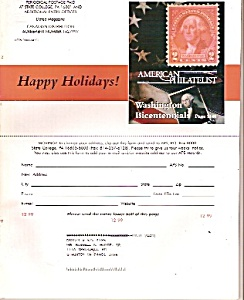 American Philatelist  magazine-  December 1999 (Image1)