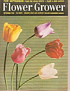 Flower Grower Magazine - September 1952