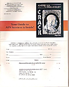 American Philatelist magazine -  November 1999 (Image1)
