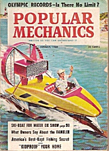 Popular Mechanics - August 1960 (Image1)