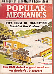 Popular Mechanics - September 1961