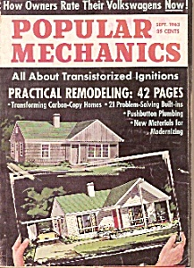 Popular Mechanics -  September 1963 (Image1)