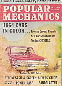 Popular Mechanics - October 1963 (Image1)