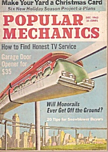Popular  Mechanics -  December 1963 (Image1)