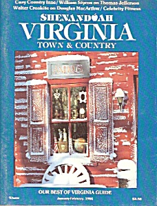Shenandoah Virginia town & country - Jan. - Feb.  1984 (Image1)