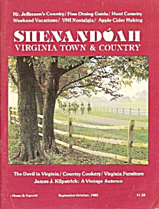 Shenandoah Virginia Town & Country - Sept., Oct. 1982