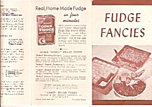 Fudge Fancies brochure -  Junket quick fudge (Image1)