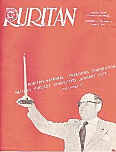 Ruritan MAGAZINE  -  Marc h 1973 (Image1)