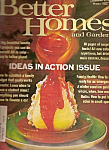 Better Homes and Gardens maqazine -  Octobner 1966 (Image1)