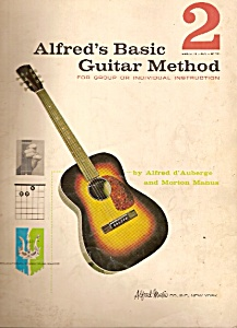 Alfred's basic guitar method No. 4  by Alfred d'Auberge (Image1)