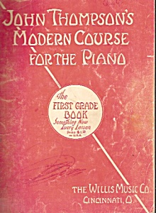 John Thompson's modern course for the Piano - (Image1)