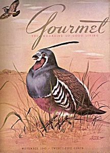 Gourmet Magazine - November 1943