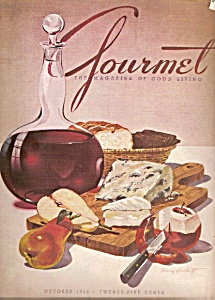 Gourmet Magazine - October 1943