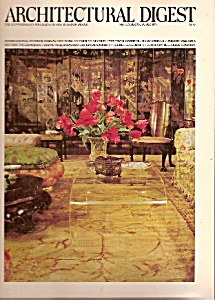 Architectural Digest - September/october 1975