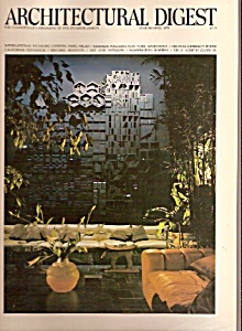 Architectural Digest Magazine- March, April 1975