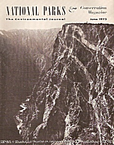 National Parks Conservation magazine -  June 1973 (Image1)