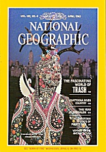 National  Geographic magazine - April 1983 (Image1)