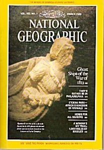National Geographic Magazine - March 1983 (Image1)