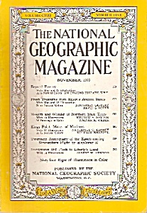 National Geographic magazine -  November 1955 (Image1)
