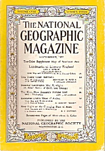 National Geographic Magazine -  September 1955 (Image1)