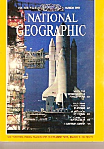 National Geographic magazine - March 1981 (Image1)