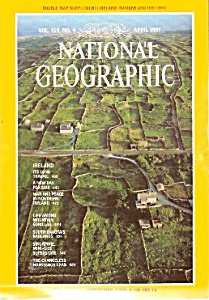 National Geographic magazine - April 1981 (Image1)