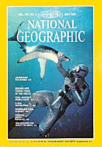 National Geographic magazine -  May 1981 (Image1)