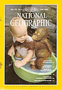 National Geographic magazine -  June 1980- (Image1)