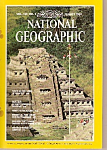 National Geographic magazine -  August 1980 (Image1)