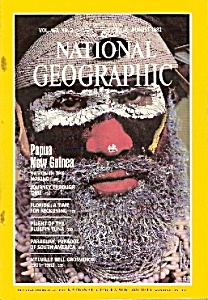 National Geographic magazine-  August 1982 (Image1)