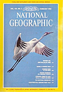 National Geographic Magazine - February 1981
