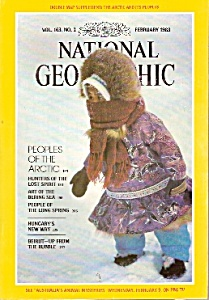 National Geographic Magazine - February 1983