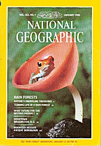 National Geographic -  January 1983 (Image1)