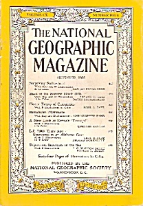 National Geographic magazine- October 1956 (Image1)