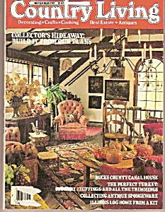 Country Living magazine -=  November 1987 (Image1)