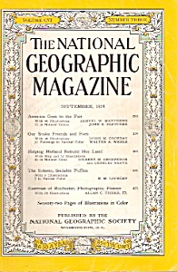 The National Geographic Magazine - September 1954
