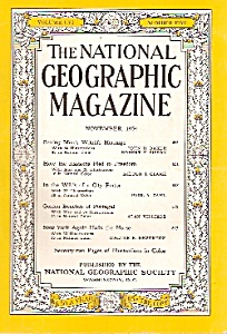 The National Geographic magazine -  November 1954 (Image1)