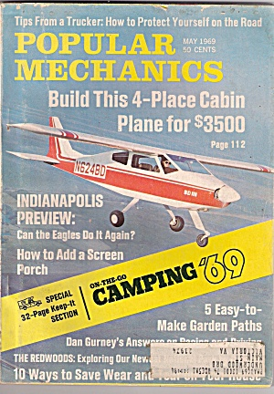 Popular Mechanics -  May 1969 (Image1)