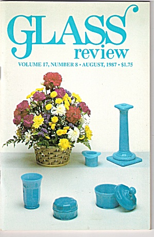 Glass Review magazine -  August 1987 (Image1)