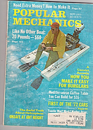 Popular Mechanics - Sept. 1971 (Image1)