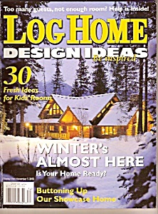 Log Hoime design ideas  -  December  2002 (Image1)