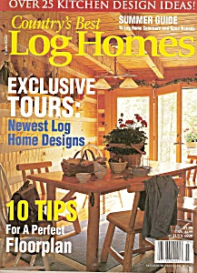 Country's best LOG HOMES - Summer guide  July 1999 (Image1)