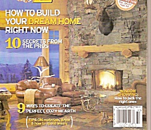 Log home Living magaziner -  October 2005 (Image1)