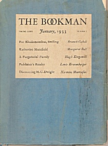 The Bookman Booklet/magazine - January 1933