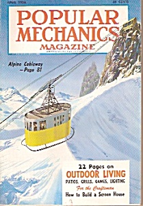 Popular Mechanics magazine -  April 1956 (Image1)
