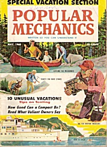Popular Mechanics  magazine -  May 1960 (Image1)
