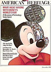 American Heritage Magazine -  December 1983 (Image1)